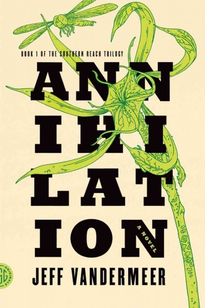 Cover of Jeff Vandermeer's Annihilation.