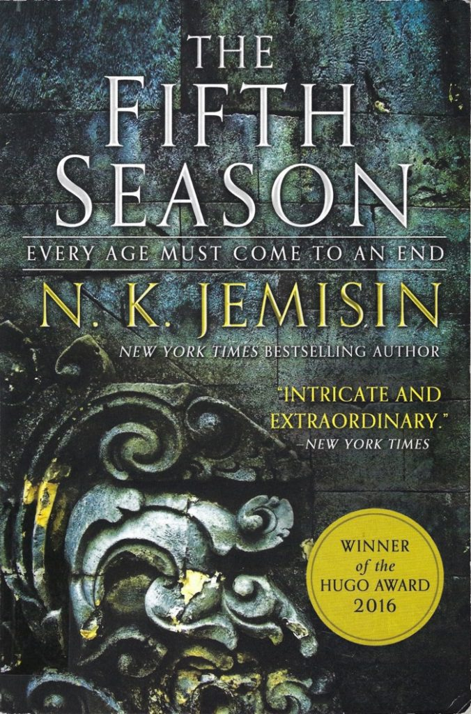 Cover of N.K. Jemisin's The Fifth Season.
