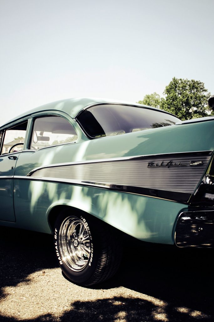 A Bel Air automobile.