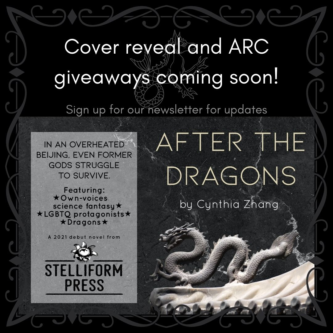 Announcement: Cover Reveal and giveaways coming soon for Cynthia Zhang's After the Dragons.