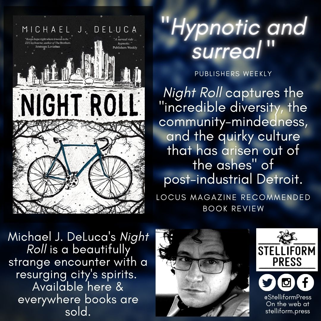 Michael J. DeLuca Night Roll Locus Review poster
