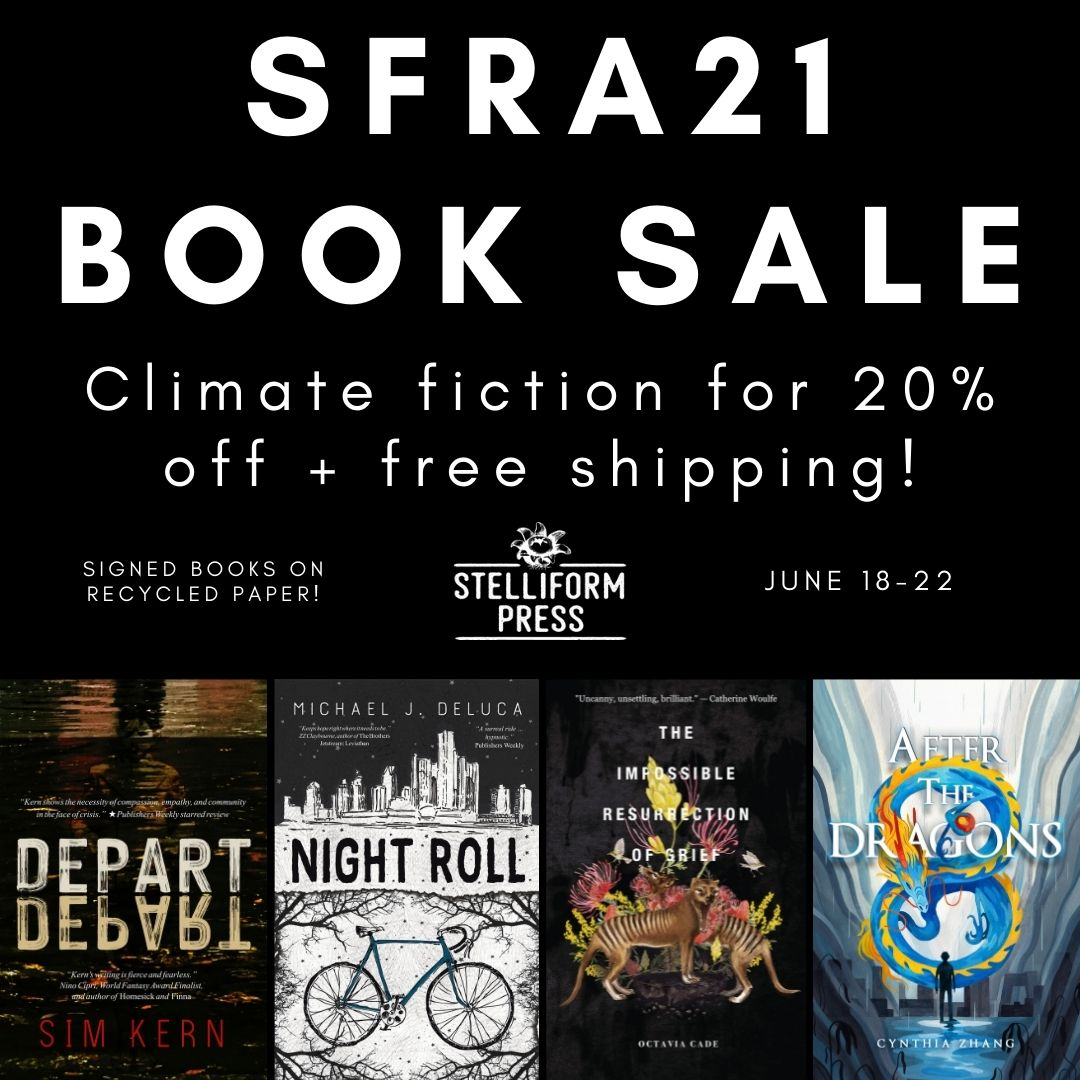 SFRA Book Sale - Climate fiction for 20% off + free shipping