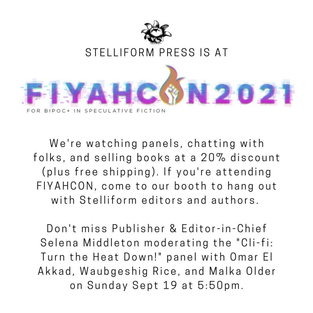 Stelliform at Fiyahcon 2021 announcement